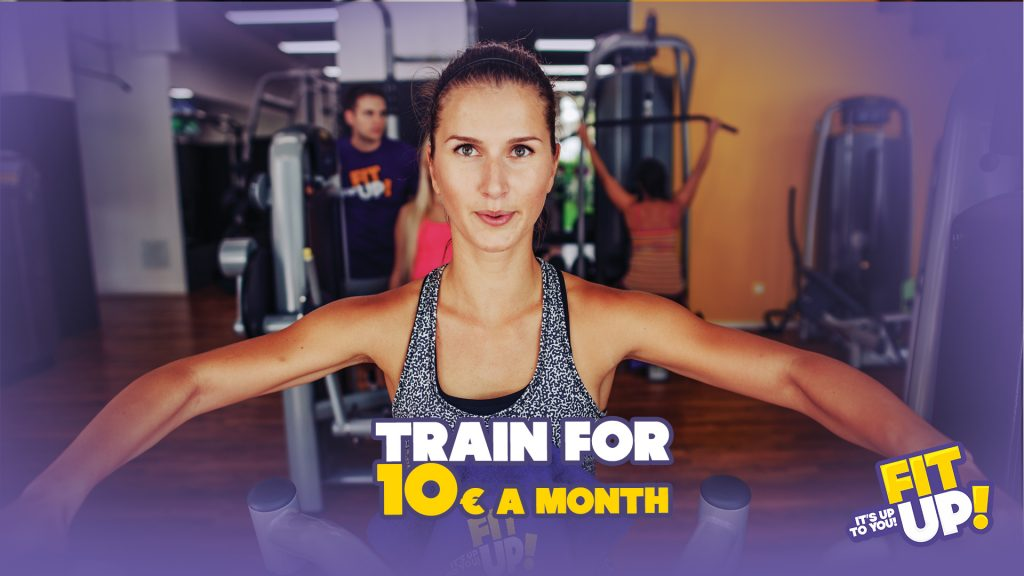 Train for 10€ a month! + First training with trainer for free!
